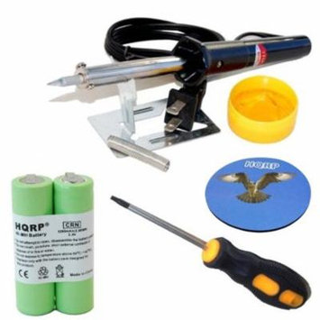 HQRP Battery fits Philips Norelco 835RX 875RX 8825XL 8845XL 8846XL 885RX Razor / Shaver plus Screwdriver, Soldering Iron and Coaster
