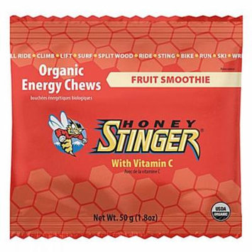 Honey Stinger Energy Chews Fruit Smoothie -- 12 Chews pack of 4