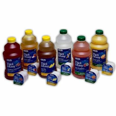 Thick & Easy Thickened Beverage 48 oz. Bottle Kiwi Strawberry Ready to Use Nectar CS/6 PK/2