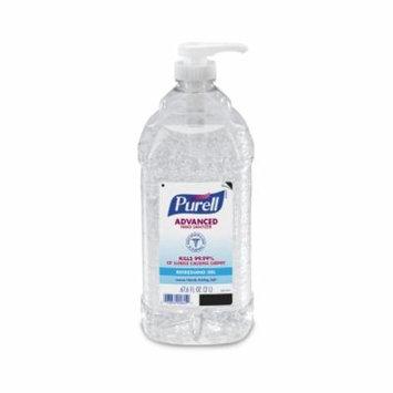 Purell Hand Sanitizer 2000 mL Ethyl Alcohol Gel Pump Bottle, Each 10 Pack
