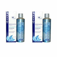 Phyto Phytoprogenium Intelligent Shampoo All Hair Types 200ml (2 Pack) + Curad Bandages 8 Ct.