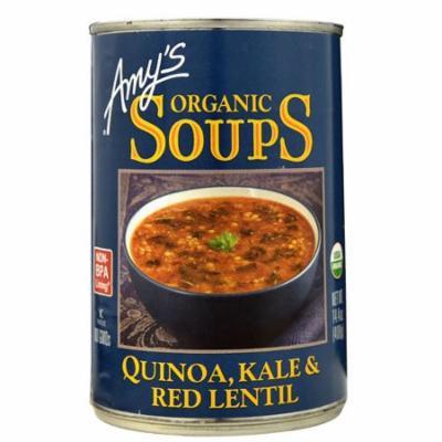 Amy's Organic Soups Quinoa Kale & Red Lentil -- 14.4 oz pack of 4