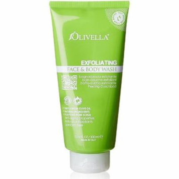 3 Pack - Olivella Exfoliating Face and Body Wash 10.14 oz