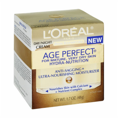 L'Oreal Paris Age Perfect Hydra-Nutrition Moisturizer, 1.7-Fluid Ounce (Packaging May Vary) + LA Cross Blemish Remover 74851