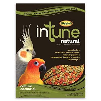 Higgins Pet Food HS30250 Intune Natural Diet For Conures & Cockatiels 2 lbs.