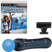 PS3 Move Bundle (Sports Champ, Motion Ctrl, Ps Eye) by PS3