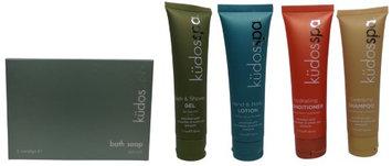 Kudos Spa Travel Set 2 Shower Gel, 2 Lotion, 2 Shampoo, 2 Conditioner, 2 Soap