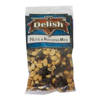Nuts N' Raisin Trail Mix by Its Delish, 5 oz Bag