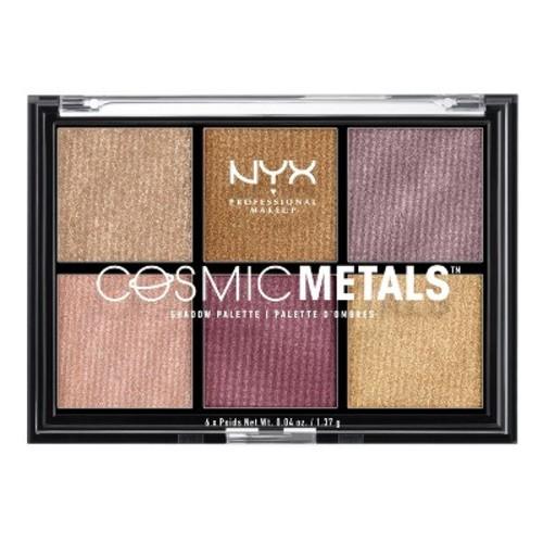NYX Professional Makeup Cosmic Metals Eyeshadow Palette - 0.04oz