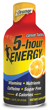5 Hour Energy 5-Hour Energy Orange Dietary Supplement Drink 2 Pack