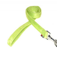 Dogline M8062-5 6 ft. L x 0. 75 W inch Comfort Microfiber Dog Leash, Green