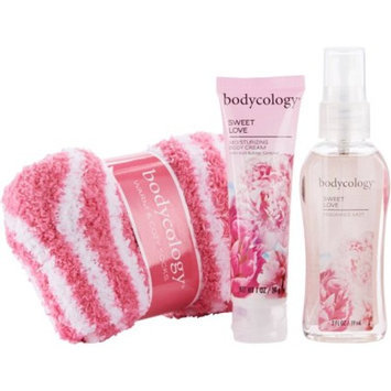 Bodycology Sweet Love Fragrance Gift Set, 3 pc