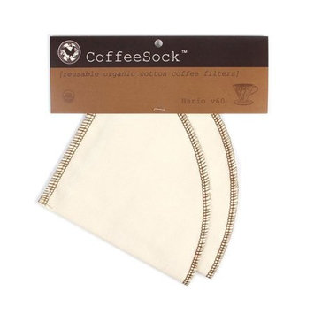Officially Licensed Original Inc. CoffeeSock - Hario v60-02 Style Filter - 2 Count