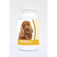 Healthy Breeds Pet Supplements 60 Cocker Spaniel Natural Skin/Coat Support Chewable Tablets for Dogs