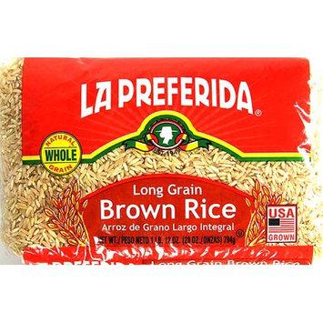 La Preferida 219651 28 oz. Long Grain Brown Rice