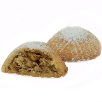 M504 - Maamoul Butter Cookies with Walnuts Sweets (46 Pieces,32 Oz Net, 3 lbs Gross, 15.5 inches x 9.5 inches x 1.5 inches) (Oglu) - Cookies (Maamoul Walnut Classy Gift Box)