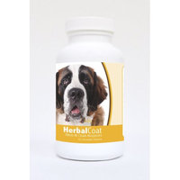 Healthy Breeds Pet Supplements 60 Saint Bernard Natural Skin/Coat Support Chewable Tablets for Dogs