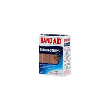 5 Pack - BAND-AID Tough-Strips Bandages All One Size 20 Each