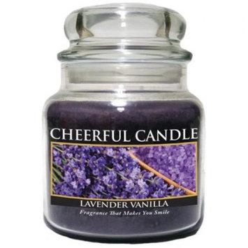 A Cheerful Candle JC56 15Oz. Lavender Vanilla Signature Colonial Jar