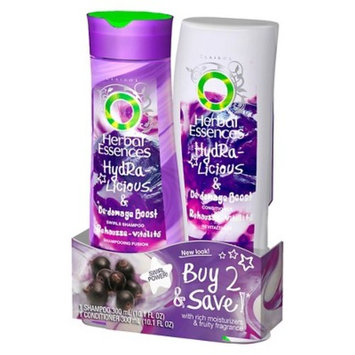 Clairol Herbal Essences Hydralicious De-Damage Boost Shampoo + Conditioner Twin Pack - Each 10.1 oz
