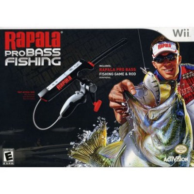 Activision Value Publishing Inc. Rapala Pro Bass Fishing 2010 with Rod