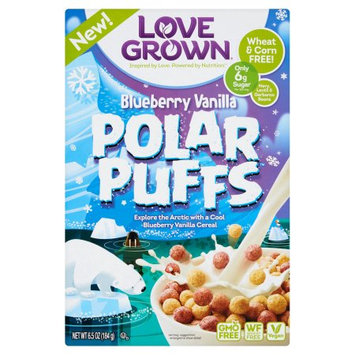Love Grown Foods, Llc Love Grown, Cereal Polar Puffs, 6.5 Oz (Pack Of 6)