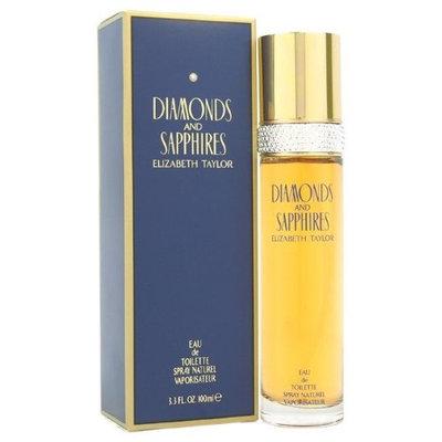 Elizabeth Taylor Diamonds & Sapphires Eau De Toilette Spray For Women 100Ml/3.3Oz
