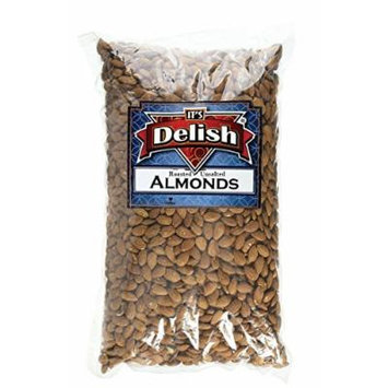 Gourmet Whole Almonds by Its Delish (Roasted Unsalted, 4 lbs)
