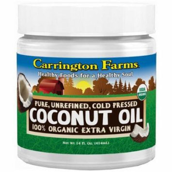 Carrington Farms Organic Extra Virgin Coconut Oil, 14 Ounce (Pack of 3)