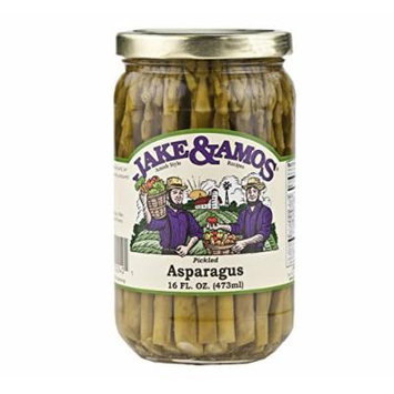 Jake & Amos Pickled Asparagus, 16 Oz. Jar (Case of 12)