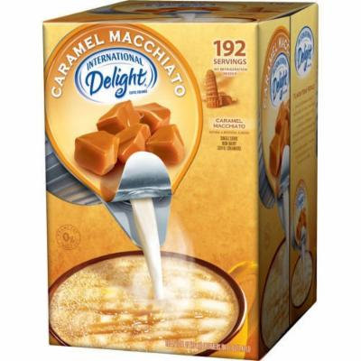 International Delight Non-Dairy Coffee Creamer Caramel Macchiato, Bulk Buy 192ct