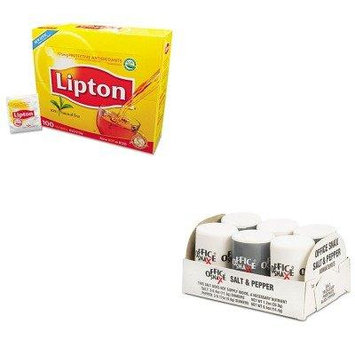 KITLIP291OFX00056 - Value Kit - Office Snax Mini Condiment Set (OFX00056) and Lipton Tea Bags (LIP291)