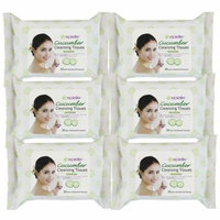Epielle Cucumber Facial Cleansing Tissues 30ct(6 pack)
