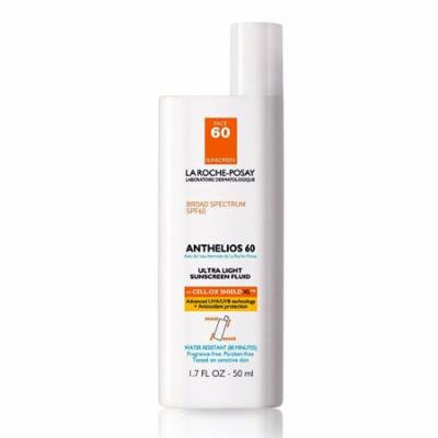 La Roche-Posay Anthelios Ultra Light Sunscreen Fluid Extreme, Spf 60 - 1.7 Oz, 2 Pack