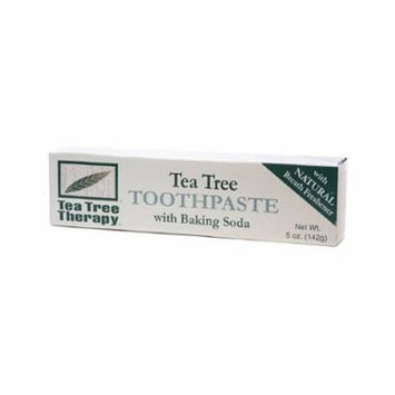 Tea Tree Therapy Toothpaste With Baking Soda - 5 Oz, 6 Pack