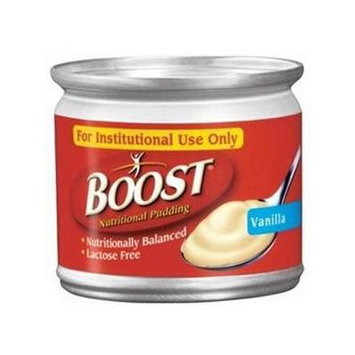 Nestle Boost Nutritional Vanilla Flavor Ready to Use Pudding 5 oz. Can, 240 Cal 2 Packs of 4