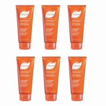 Phytoplage Shampooing Gel, Moisturizing Hair & Body Wash, 6.5 Oz (Pack of 6) + Curad Dazzle Bandages 25 Ct.