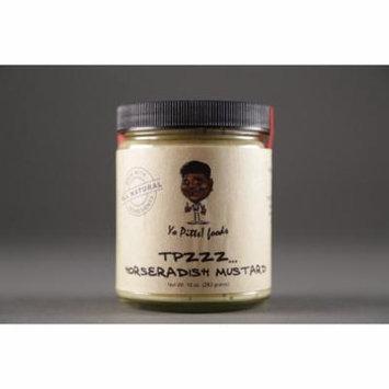 Yo Pitts! Foods - TPzzz Horseradish Mustard, All Natural, 10 oz