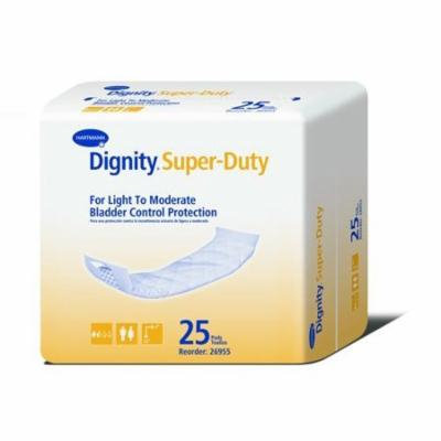 Dignity Super Natural Self-Adhesive Pads 4'' x 12'' -PK/25 10 Count