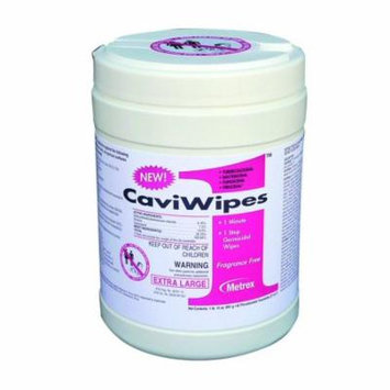 Caviwipes1 Disinfectant Wipes Case of 1920 - 10 Pack