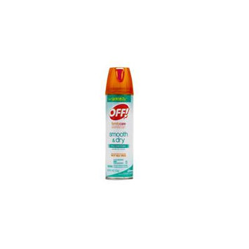 Off Skintastic Familycare Smooth Dry Insect Repellent, Aerosol - 4 Oz