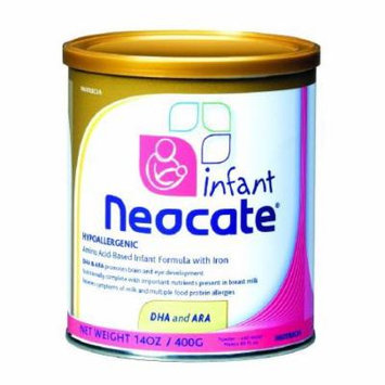 Neocate Infant Formula ''DHA and ARA, 14.1 oz, Pack of 10''