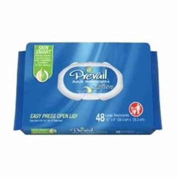 Personal Wipe Prevail Soft Pack Aloe / Vitamin E Scented 96 Count 2 Pack