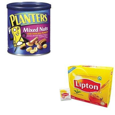 KITLIP291PTN01670 - Value Kit - Planters Mixed Nuts (PTN01670) and Lipton Tea Bags (LIP291)