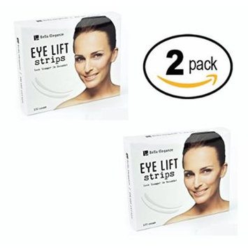 Bella Eleganze (2 PACK) Eyelid Tape Instant Eye Lift Without Surgery - Achieve a Big Beautiful & Youthful Lids 120 Strips Medical Grade Latex Free Hypoallergenic - Small 3mm x 26mm
