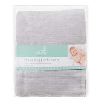 aden by aden + anais Changing Pad Cover in Grey