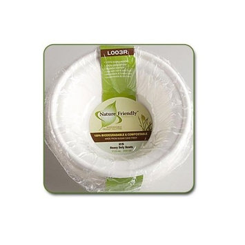 12 Oz. Classic Sugarcane Bowl (Pack of 25)