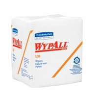 WypAll L30 Task Wipe ''White, 12.5 L x 12 W, 90 Count, Light Duty'' 8 Pack