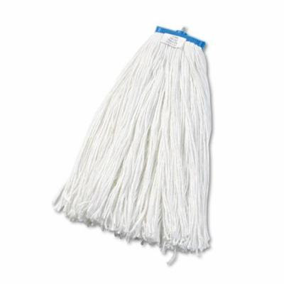 Boardwalk 724RCT Cut End Lie-Flat Economical Mop Head, Rayon - White