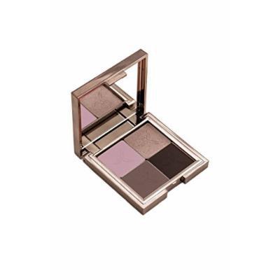 Gallany Cosmetics Eye Shadow Quad Palette, Metallic Plum Eyeshadow, Cool Purple Urban Smokey Eye, Shimmering Pigments (Downtown)